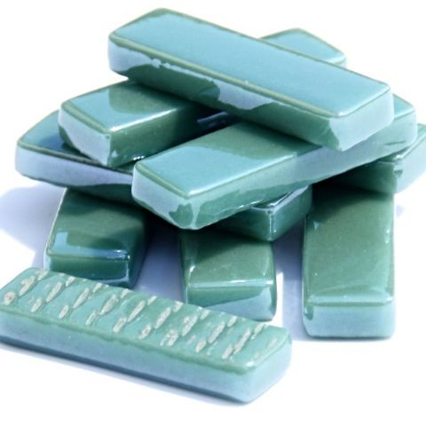 Rectangles - Emerald Green Pearlised - 50g